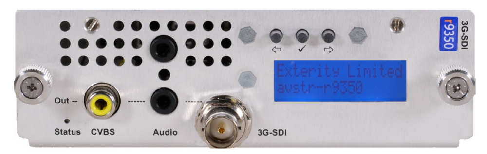 Exterity g9350 receiver